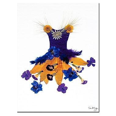Trademark Fine Art Thumbellina Butterfily Petticoat Kathie McCurdy Canvas