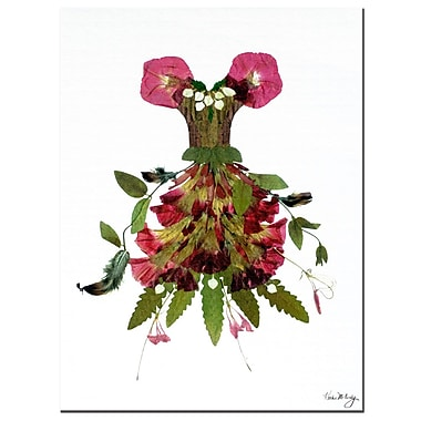 Trademark Fine Art Thumbellina Woodland Gown by Kathie McCurdy Canvas Art