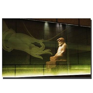 Trademark Fine Art Lotus Buddha by Kurt Shaffer-Gallery Wrapped 20x30