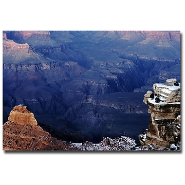 Trademark Fine Art Kurt Shaffer 'In the Mountains' Canvas Art 16x24 Inches