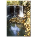 Trademark Fine Art Autumn Falls by Kurt Shaffer-Gallery Wrapped