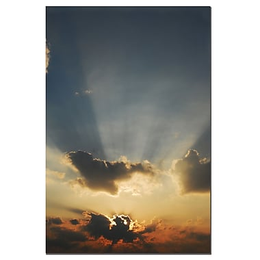 Trademark Fine Art Beautiful Sky by Kurt Shaffer-Gallery Wrapped