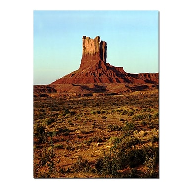 Trademark Fine Art Monument in the Desert by Kurt Shaffer-Gallery Wrapped