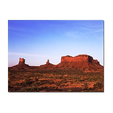 Trademark Fine Art Monument Valley by Kurt Shaffer-Gallery Wrapped
