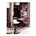 Trademark Fine Art Kathy Yates 'Paris Cafe' Canvas Art