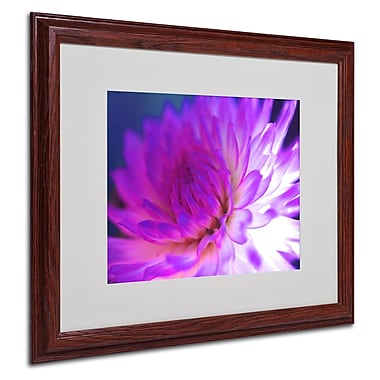 Trademark Fine Art Kathy Yates 'Mod Dahlia' Canvas Art 14x19 Inches