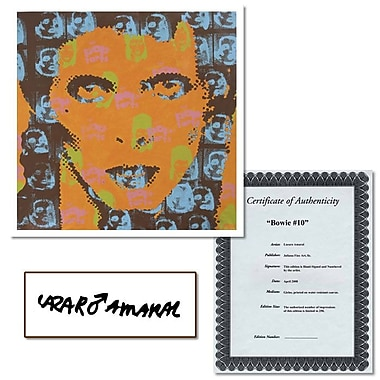 Trademark Fine Art Bowie #10 by Lazaro Amaral-20x20 Gallery Wrapped Canvas