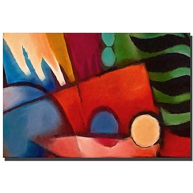 Trademark Fine Art Tropicana by Adam Kadmos-Canvas Ready to Hang