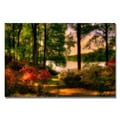 Trademark Fine Art Lois Bryan 'A Walk in the Park' Canvas Art
