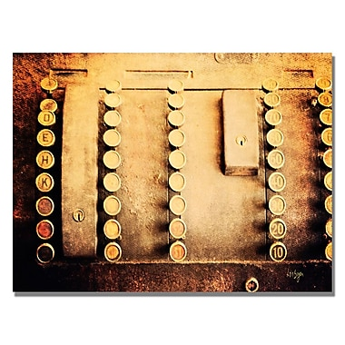 Trademark Fine Art Lois Bryan 'Cash Out' Canvas Art 18x24 Inches