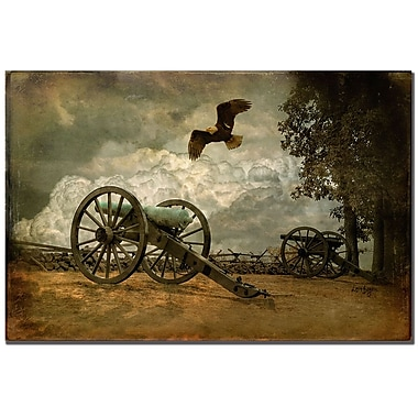 Trademark Fine Art Lois Bryan 'Gettysburg' Canvas Art 16x24 Inches