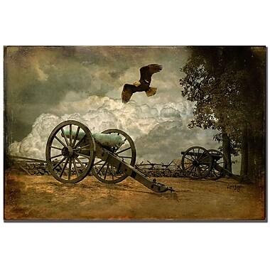 Trademark Fine Art Lois Bryan 'Gettysburg' Canvas Art 22x32 Inches