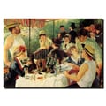 Trademark Fine Art Pierre Renoir, 'Luncheon of the Boating Party' Canvas Art