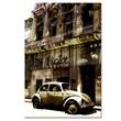 Trademark Fine Art 1956 Volkswagen Beetle Sedan-Ready to Hang 22x32 Inches