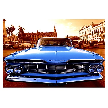 Trademark Fine Art 1959 Chevy El Camino-Gallery Wrapped 16x24 Inches