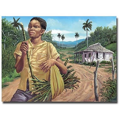 Trademark Fine Art 'Azucar' Canvas Art