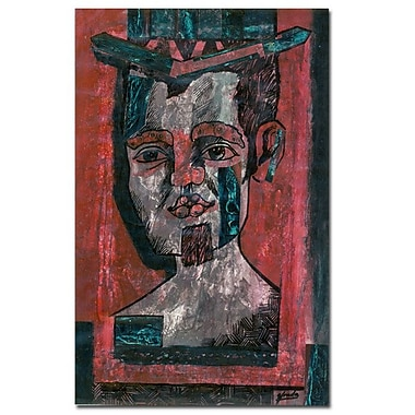 Trademark Fine Art Yonel 'Just Myself' Canvas Art 22x32 Inches