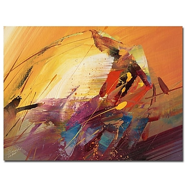 Trademark Fine Art Ricardo Tapia 'A New Day' Canvas Art 24x32 Inches