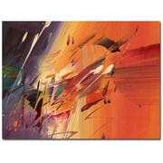Trademark Fine Art Ricardo Tapia 'Speed' Canvas Art 24x32 Inches