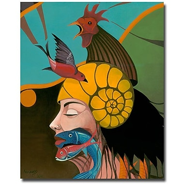 Trademark Fine Art Armando 'Looking at You' Canvas Art