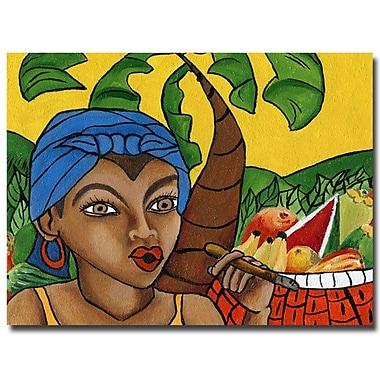 Trademark Fine Art Yonel 'Habanera III' Canvas Art