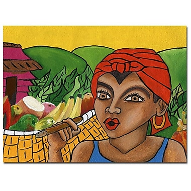 Trademark Fine Art Yonel 'Habanera IV' Canvas Art