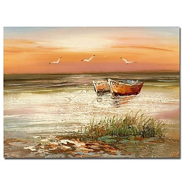 Trademark Fine Art Rio 'Florida Sunset' Canvas Art