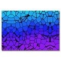 Trademark Fine Art 'Crystals of Blue and Purple' Canvas Art