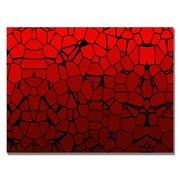 Trademark Fine Art 'Crystal Reds' Canvas Art 30x47 Inches