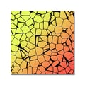 Trademark Fine Art 'Crystals of Yellow and Orange' Canvas Art