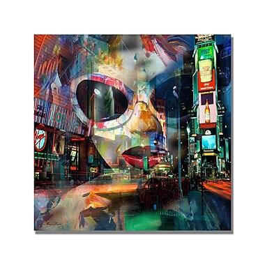 Trademark Fine Art 'On Broadway' Canvas Art