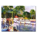 Trademark Fine Art Manor Shadian 'Lahaina Maui' Canvas Art
