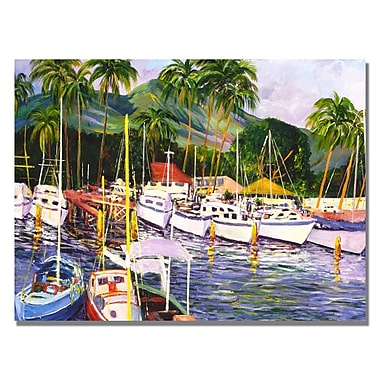 Trademark Fine Art Manor Shadian 'Lahaina Maui' Canvas Art 18x24 Inches