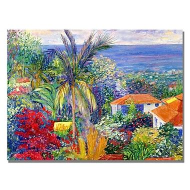 Trademark Fine Art Manor Shadian 'Villa in Maui' Canvas Art