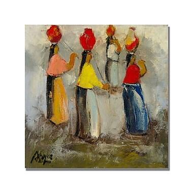 Trademark Fine Art 'Boyer Pradera de Verano' Canvas Art