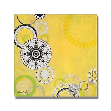 Trademark Fine Art Alexandra Rey 'Ilummia' Canvas Art 35x35 Inches