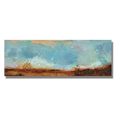 Trademark Fine Art Alexandra Rey 'Journey I' Canvas Art 14x32 Inches