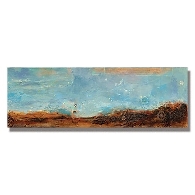 Trademark Fine Art Alexandra Rey 'Journey II' Canvas Art 14x32 Inches