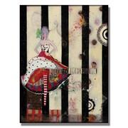 Trademark Fine Art Alexandra Rey 'Meet Flowers' Canvas Art 24x32 Inches