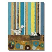 Trademark Fine Art Alexandra Rey 'Priscilla & Co' Canvas Art 24x32 Inches
