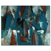 Trademark Fine Art Abstract VI by Lopez  Ready to Hang Art
