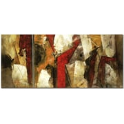Trademark Fine Art Abstract X by Lopez  Ready to Hang Art