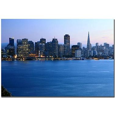 Trademark Fine Art Yakov Agami 'San Francisco CA' Canvas Art 22x32 Inches