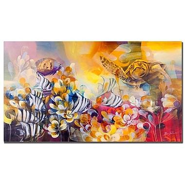 Trademark Fine Art Palacios 'Key Largo' Canvas Art