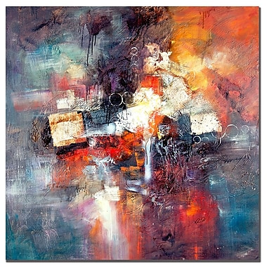Trademark Fine Art Rio 'Cube Abstract III' Canvas Art 35x35 Inches