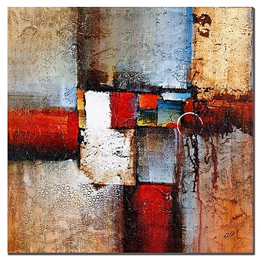 Trademark Fine Art Rio 'Cube Abstract VI' Canvas Art 35x35 Inches