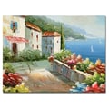 Trademark Fine Art Rio 'Mideterreanean View' Canvas Art