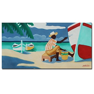Trademark Fine Art Antonio 'Caribbean Peacefulness' Canvas Art