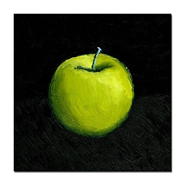 Trademark Fine Art Michelle Calkins 'Green Apple Still Life' Canvas Art