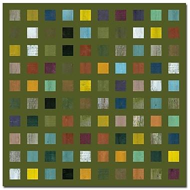 Trademark Fine Art Michelle Callkins 'Rustic Wooden Abstract IX' Canvas Art
